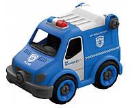 Конструктор Hulna Полицейский грузовик на радиоуправлении 21 деталь (LM8022-YZ-1)