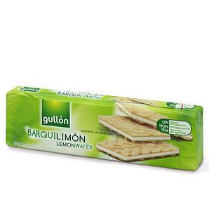 Вафлі GULLON NEW Barquilimon з лимонним кремом, 150г, 16шт/ящ