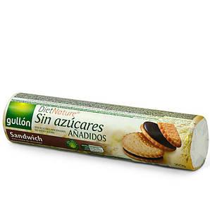 Печиво GULLON NEW без цукру Diet Nature сендвіч 250г, 18шт/ящ