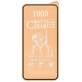 "Захисна плівка Ceramics Matte 9D (без упак.) Для Apple iPhone 12 Pro Max (6.7 "")"