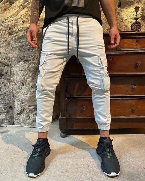 Мужские джинсы с цепочкой Турция