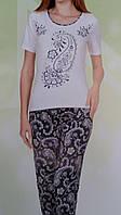 """Женская пижама """"Nicoletta"""" №82308 (капри)"""