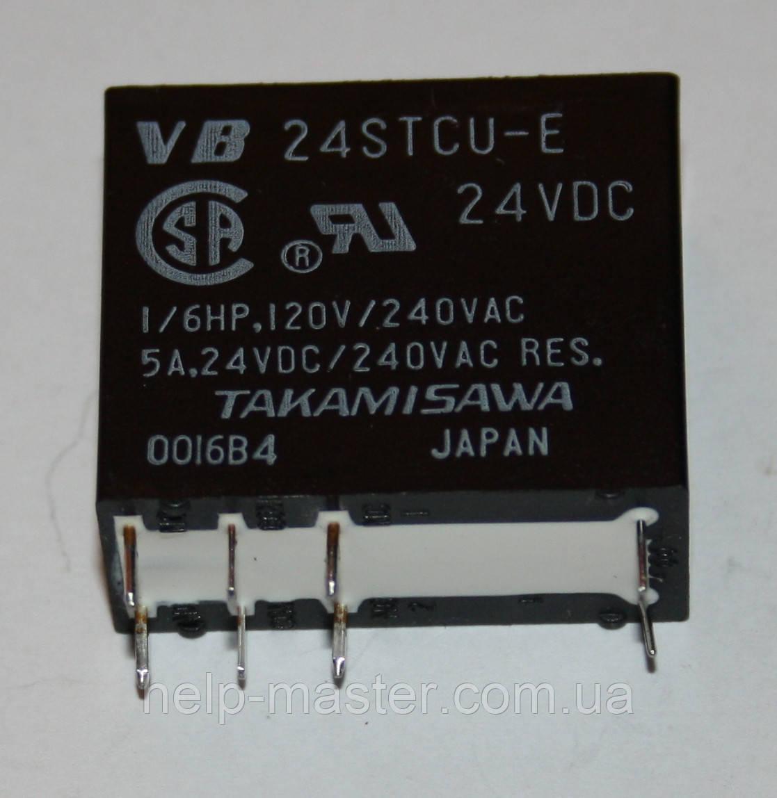 Реле электромеханическое  VB-24STCU-E; 24VDC