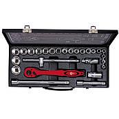 """Профессиональный набор инструмента 1/2"""", 26 ед. INTERTOOL ET-6027"""