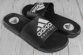 Чоловічі чорні сланці Adidas