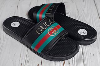 Чоловічі чорні сланці Gucci