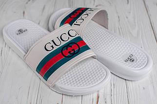 Чоловічі білі сланці Gucci