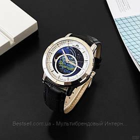Часы оригинальные мужские наручные механические с автоподзаводом  Megalith 8213M Black-White