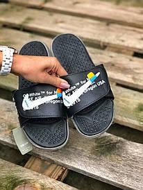 Чоловічі чорні сланці Nike Off White