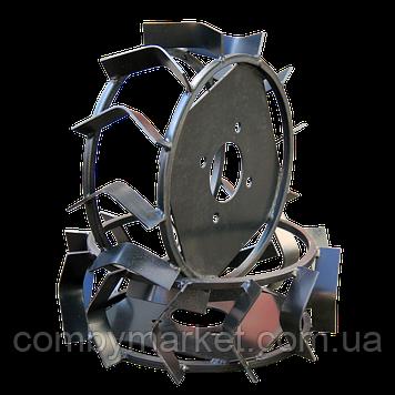 Колеса з грунтозачепами Ø340 × 110 (Pubert) (без втулки)