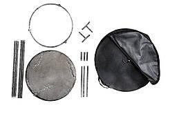 Сковорідка з диска, борони 50 см з підставкою для багаття кришкою і чохлом