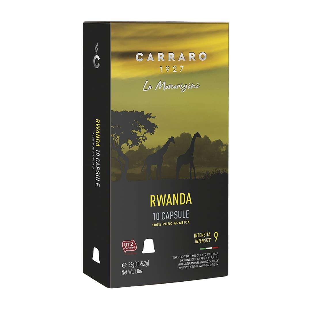 "Кава в капсулах Carraro ""Rwanda"" 10 шт."
