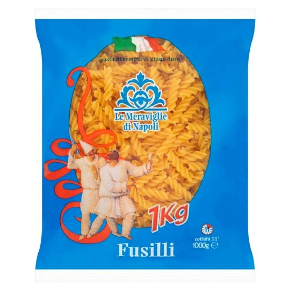 Макарони Le Meraviglie Di Napoli Fusilli Pasta 1 кг 10шт/ящ