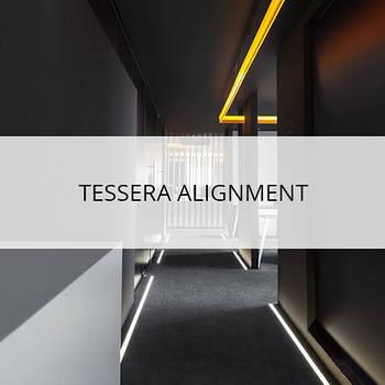 Ковровая плитка tessera alignment