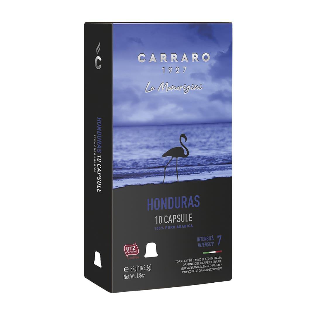 """Кофе в капсулах Carraro """"Honduras""""  10 шт."""