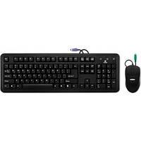 Комплект (клавиатура+мышь) Gresso GMK-2332 USB Black
