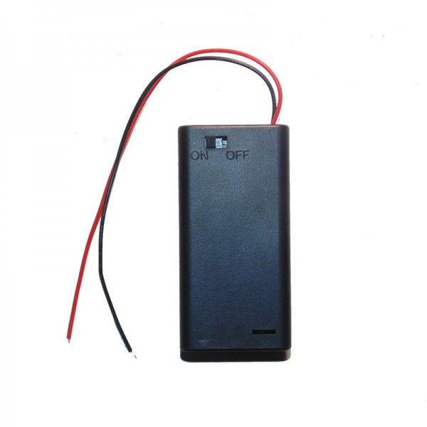 Бокс на 3 ААА батареи, 4.5V кейс, питание Arduino