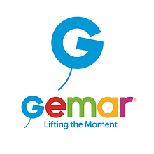 Латексні кульки круглі без малюнка Gemar