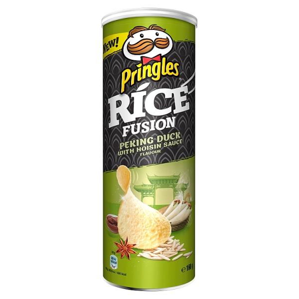 Чіпси PRINGLES RICE INFUSIONS Pecking duck, 160г, 19 шт/ящ