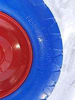Колесо 4.00-8 пенополиуретановое . Колесо для тачек. Колесо для садовой, строительной техники