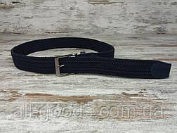 Универсальный плетенный ремень резинка 40 мм, оригинальный модный текстильный ремень, фото 3