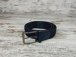Универсальный плетенный ремень резинка 40 мм, оригинальный модный текстильный ремень, фото 2