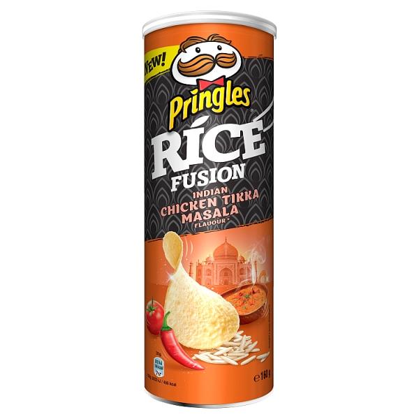 Чіпси PRINGLES RICE INFUSIONS Indian tikka masala, 160г, 19 шт/ящ