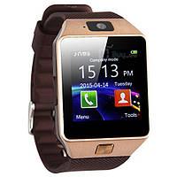 Умные часы Smart Watch DZ09 (Brown)  Наручные смарт часы