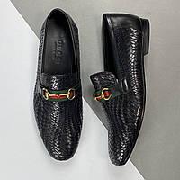 Лоферы мужские Gucci (Гуччи) арт. 40-11