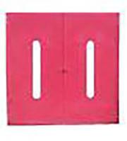 Шкаф пожарный красный пластиковый (600х600х240мм)