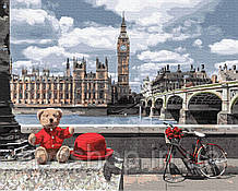 Мишка-путешественник в Лондоне
