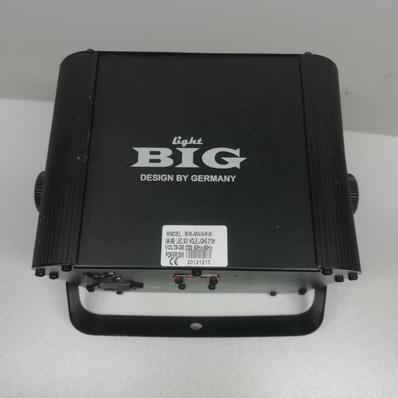 BIG BM SWARM багатопроменевої світлодіодний дискотечний прилад ефектів