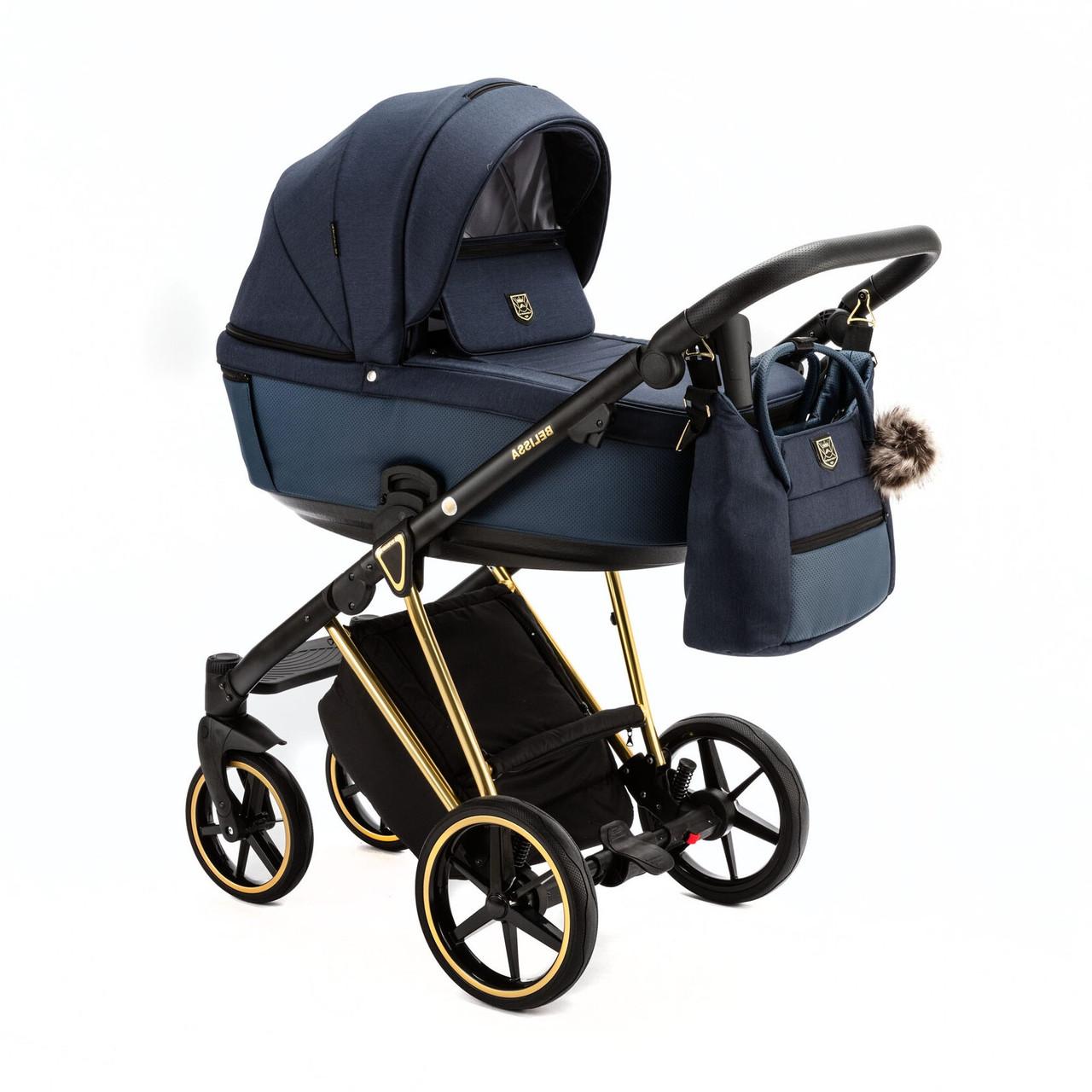 Детская универсальная коляска 2 в 1 Adamex Belissa PS-581