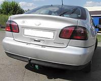 Прицепное устройство со сьемным крюком (Фаркоп) NISSAN PRIMERA (P12) седан/хетчбек 2003+ г.в.