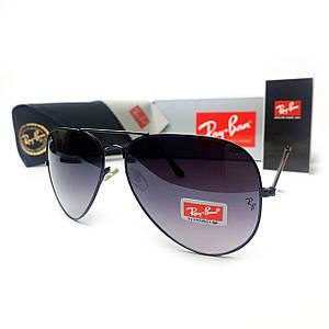 Солнцезащитные очки R-B Aviator Капли 3026 Черный