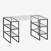 Опоры к столу в стиле Лофт, ОП-09