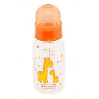 Бутылочка для кормления Baby Team стеклянная 150 мл