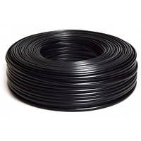 Коаксиальный кабель DL F6SSV ,сечение 1,02мм, 100 м.,(4-х слойный экран), 75 Ом  (Black)