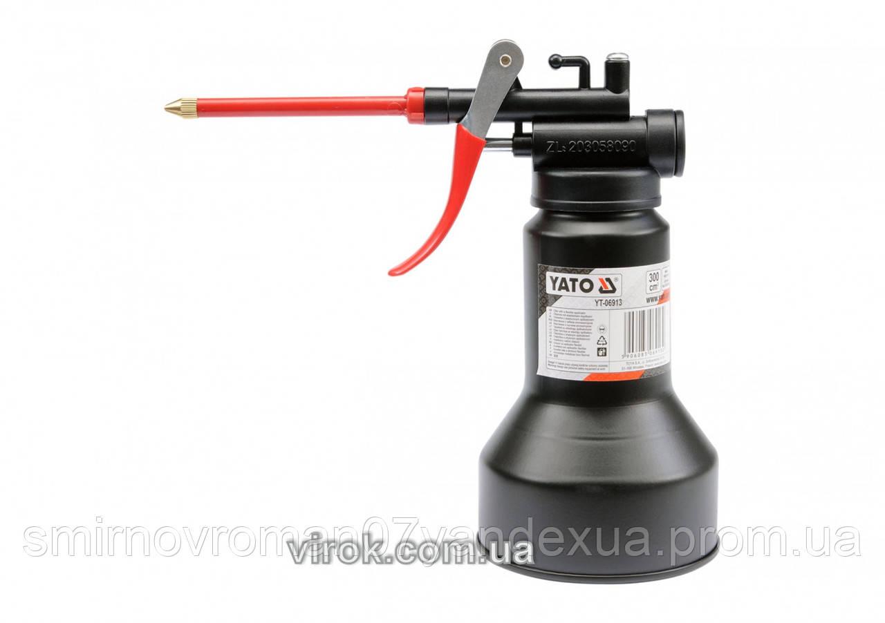 Маслянка важільна YATO з гнучким аплікатором, 500 см³  [10/120]