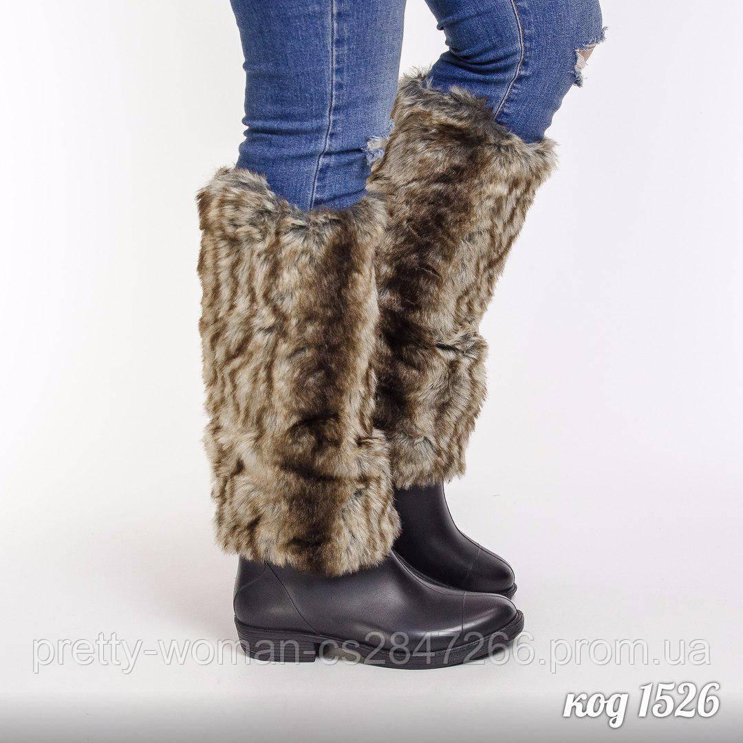 Гумові неутеплені чоботи  37 розмір
