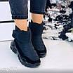 Зимові чорні кросівки  36 розмір, фото 2