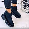 Зимові чорні кросівки  36 розмір, фото 4