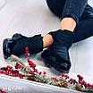 Зимові чорні кросівки  36 розмір, фото 5