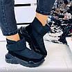 Зимові чорні кросівки  36 розмір, фото 6