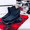 Зимові чорні кросівки  36 розмір, фото 7