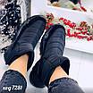 Зимові чорні кросівки  36 розмір, фото 8