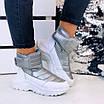 Зимові срібні кросівки  36 розмір, фото 5