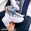 Зимові срібні кросівки  36 розмір, фото 6