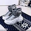 Зимові срібні кросівки  36 розмір, фото 7