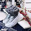 Зимові срібні кросівки  36 розмір, фото 8